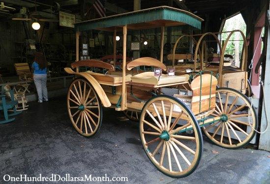 handmade stagecoach