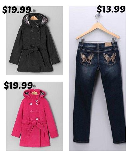 pea coats for girls