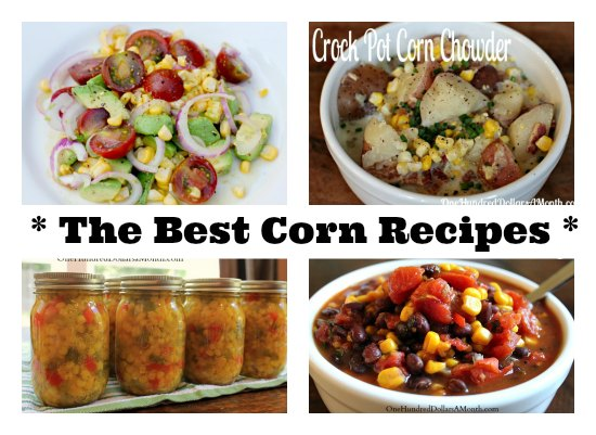 the best corn recipes