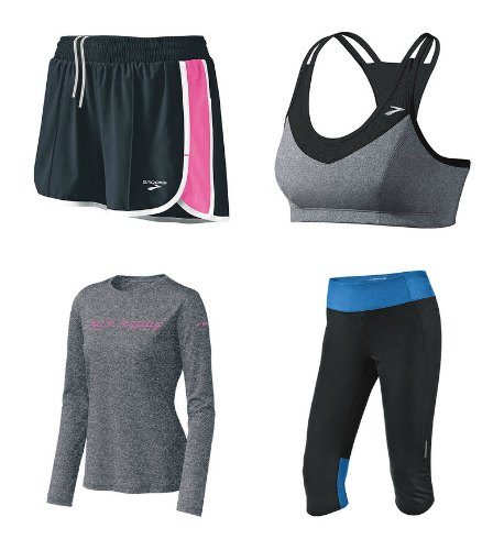 brooks running clothes