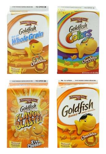 goldfish crackers carton