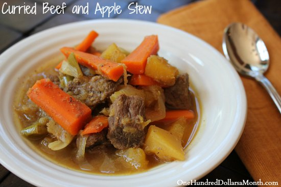 Curried Beef and Apple Stew