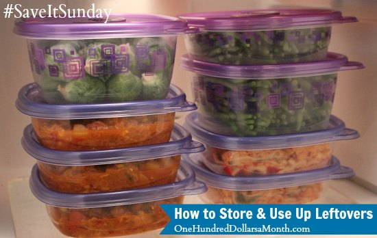 How to Store and Use Up Leftovers