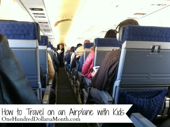 How to Travel on an Airplane with Kids