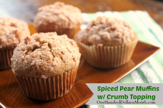 Spiced-Pear-Muffins-with-Crumb-Topping
