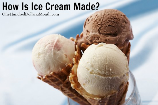 What's In My Food - How Is Ice Cream Made? - One Hundred ...
