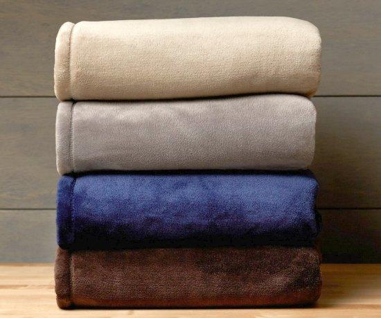 Pinzon Velvet Plush Bed Blanket