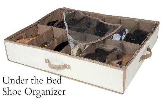 Underbed Shoe Organizer