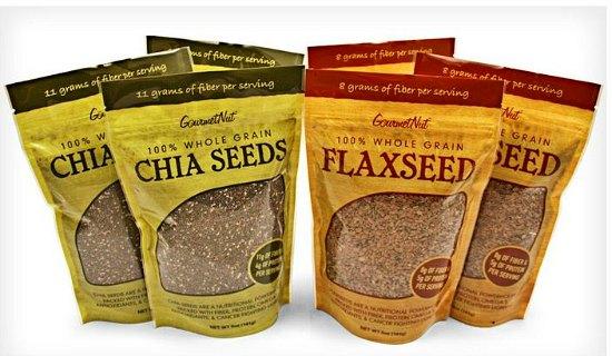 chia flax seeds