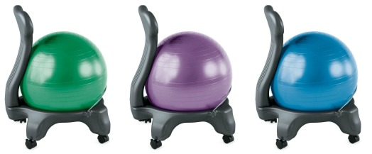 gaiam ball chairs