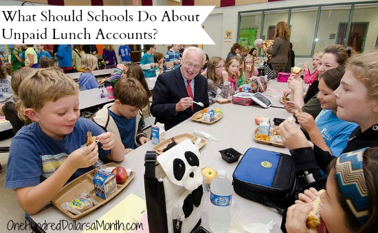 What Should Schools Do About Unpaid Lunch Accounts