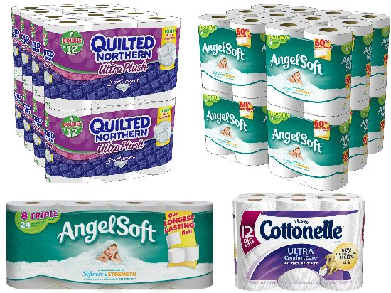 amazon toilet paper deals