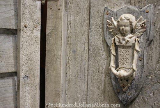 antique cherub