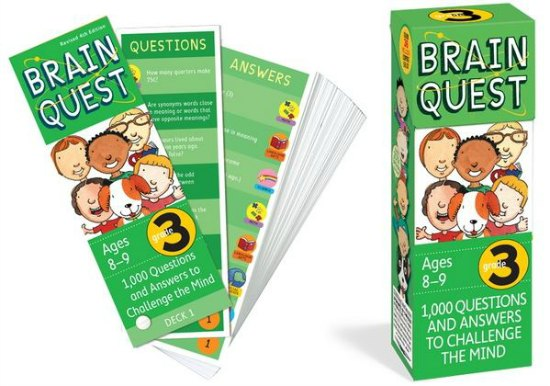 brain quest flash cards