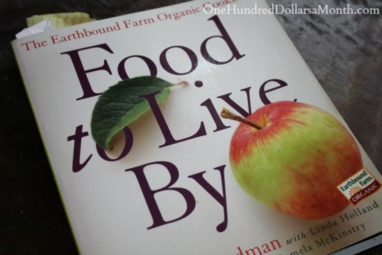 food to live by cookbook
