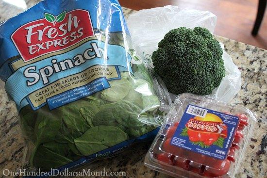fresh express salad mix
