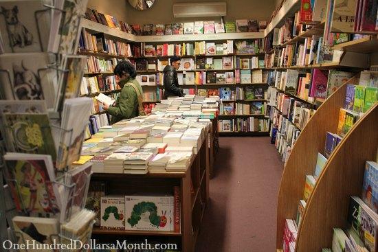london bookstore