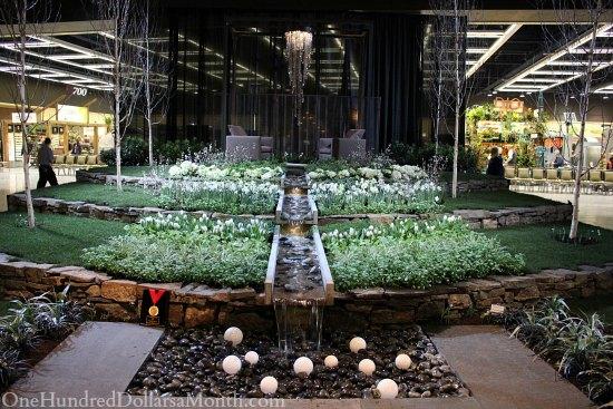 water fountain northwest flower and garden show
