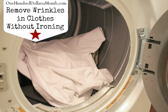 Remove Wrinkles in Clothes Without Ironing