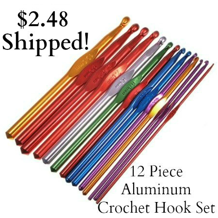 Aluminum-Crochet-Hook-Set