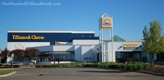 Tillamook Cheese Factory Tour and Farmhouse Cafe