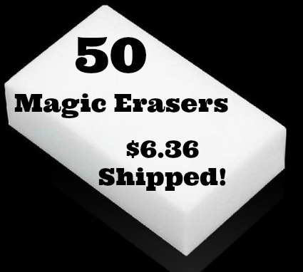 magic erasers sponges
