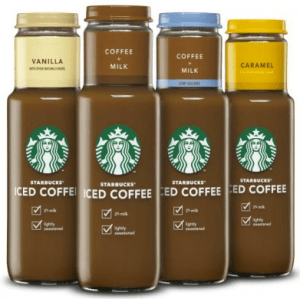 4-Pack of Bottled Starbucks Iced Coffee coupon