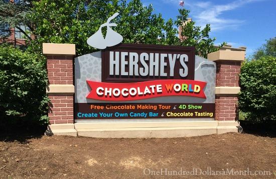 hersheys chocolate world pa