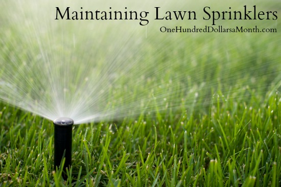 Maintaining Lawn Sprinklers