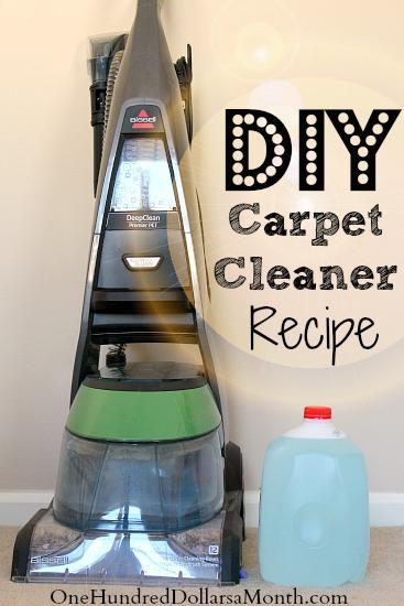 tips for steam cleaning carpets my favorite diy carpet cleaner recipe. Black Bedroom Furniture Sets. Home Design Ideas