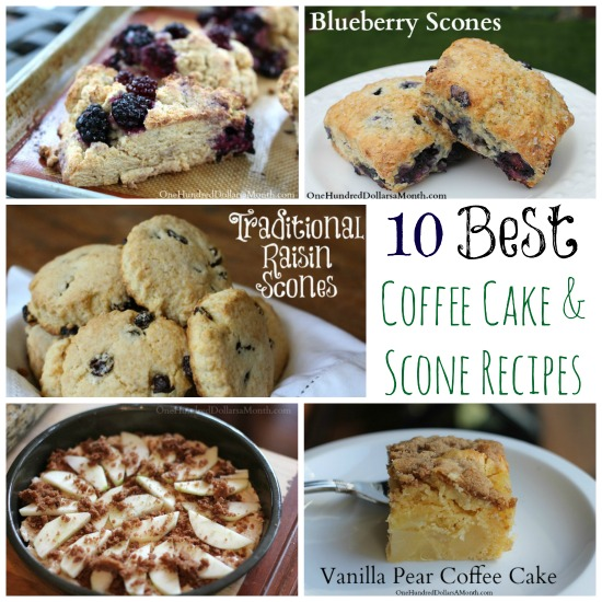 10 Best Coffee Cake and Scone Recipes