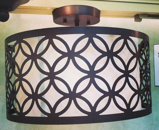 allen + roth brown wall mounted light fixture