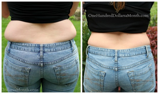 how to loose a muffin top