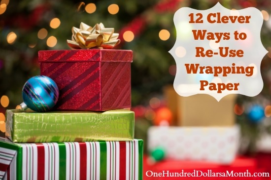 12 Clever Ways to Re-Use Wrapping Paper