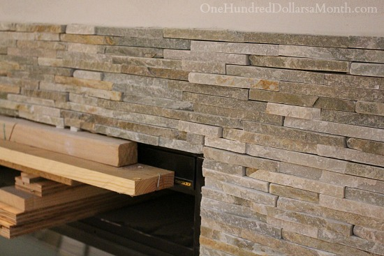 Golden Sand Slate, Quartzite & Sandstone Mini Stacked tile