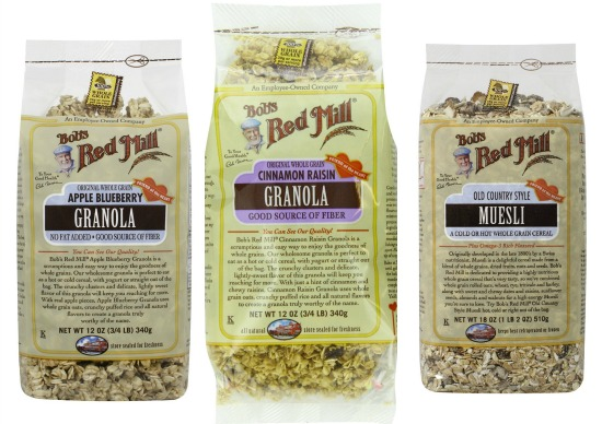 bob red mill granola