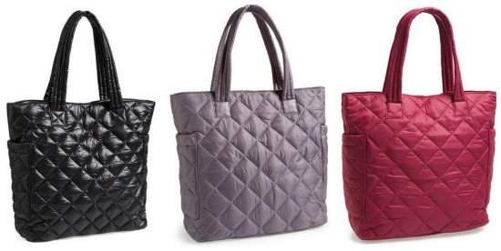 quilted purse
