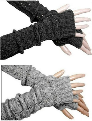 fingerless sweater gloves
