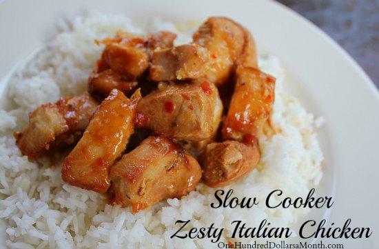 Easy-Slow-Cooker-Meals-Zesty-Italian-Chicken