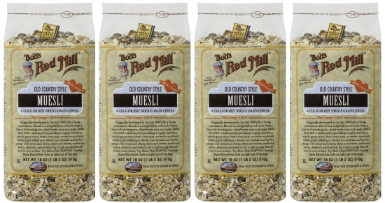bob red mill muesli