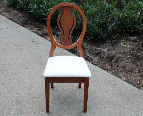 thrift store chair