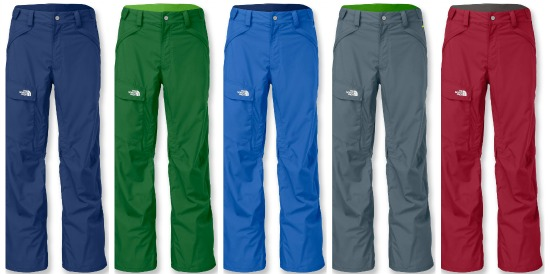 The north face snow pants shell