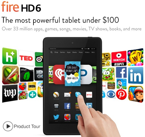 kindle fire 6