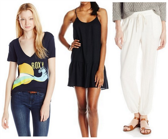 deals on Roxy clothing
