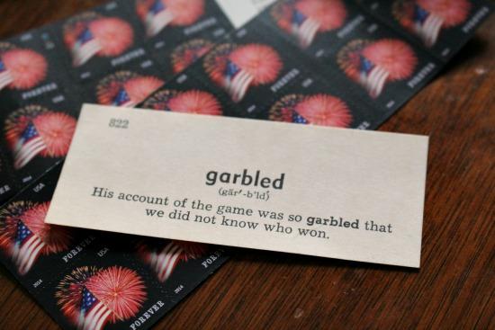 garbled