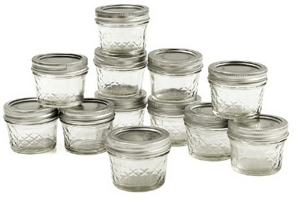small cannning jars