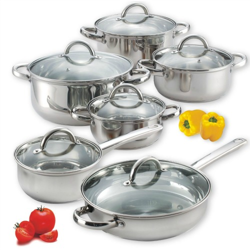 stainless steel cook set