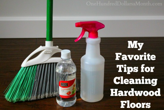 My Favorite Tips for Cleaning Hardwood Floors