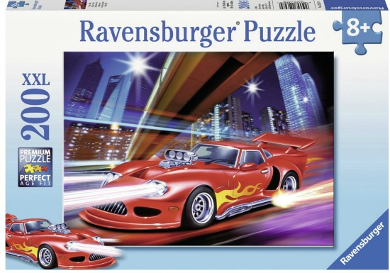 Ravensburger Fast Sports Car Puzzle