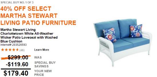 martha stewart pario furniture